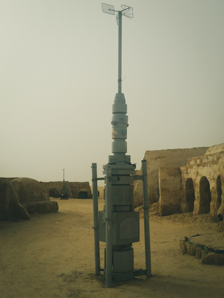 Star Wars film locations in Tunisia - the famous moisture vaporators of Mos Espa, Tatooine.