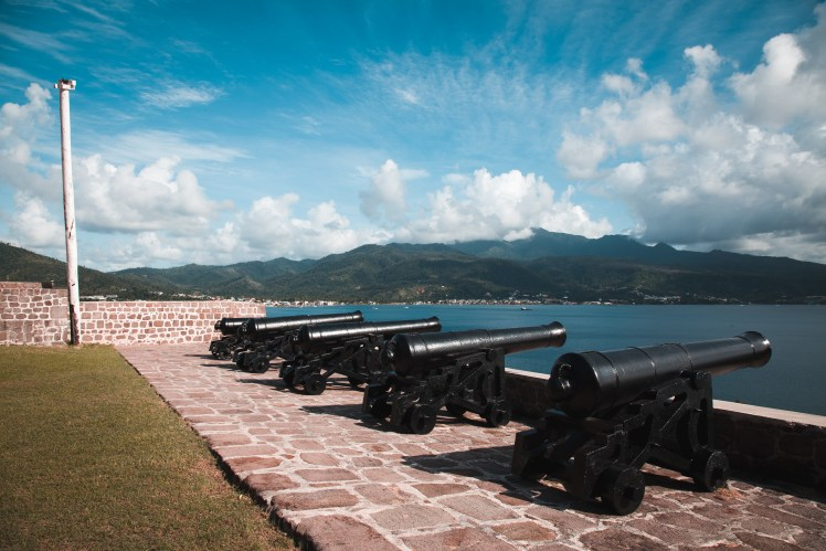 Fort Shirley in Cabrits National Park, Dominica.