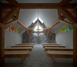 Terunobu Fujimori with Barth Interni, Lignoalp. Cross Chapel