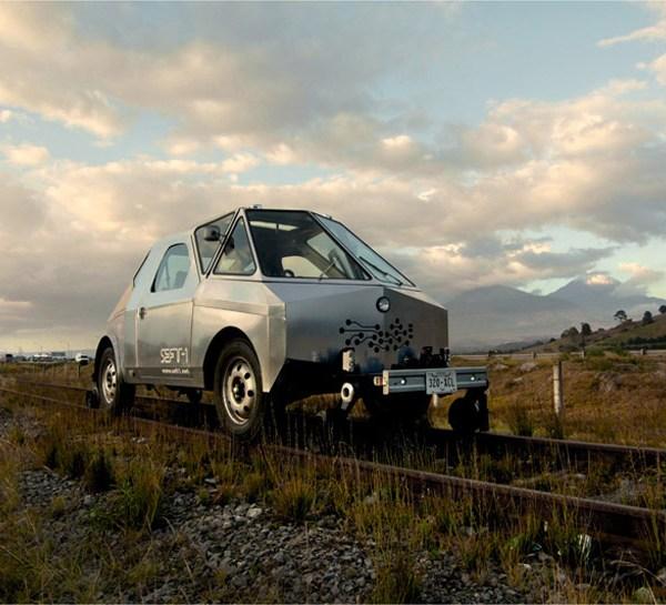 Il fuoristrada-locomotiva