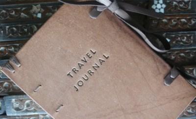 HANDMADE TRAVEL JOURNAL