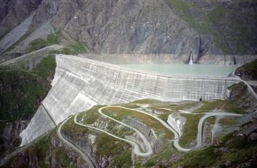 Grand Dixance Dam Lausanne Switzerland