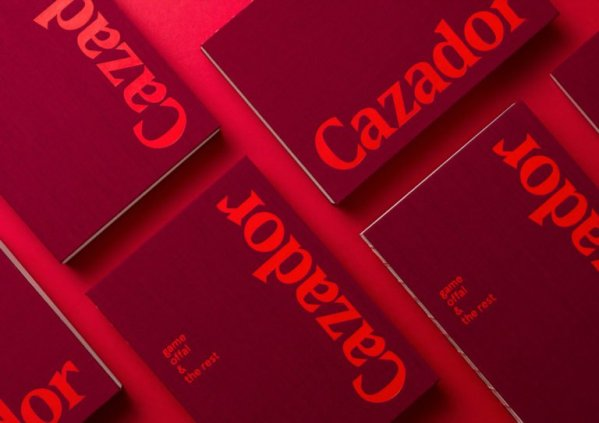 CAZADOR COOKBOOK