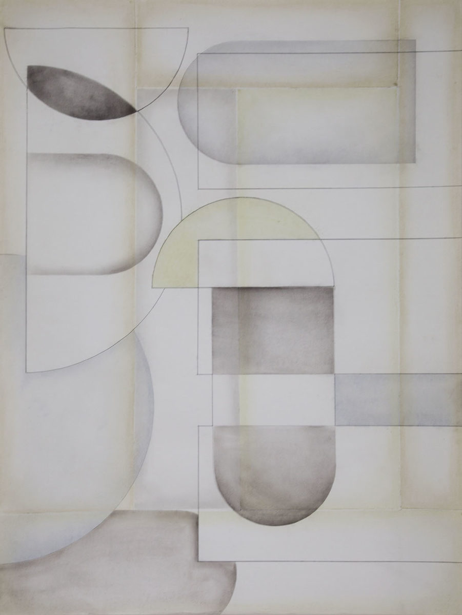 Michaela Vrbková, Infraordinary, 2019. Soft pastel on paper, 100 x 75 cm.