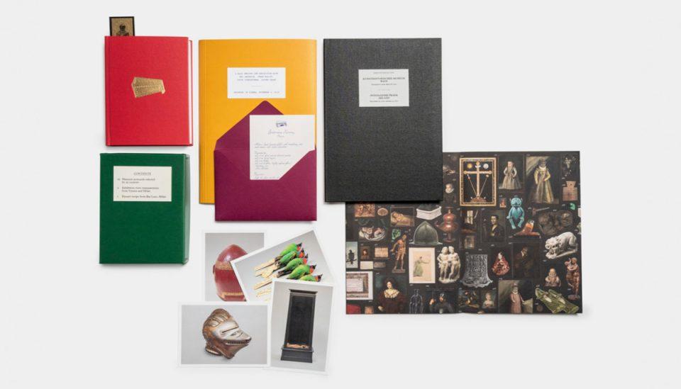 cataloghi lettere e cartoline mostra Wes anderso