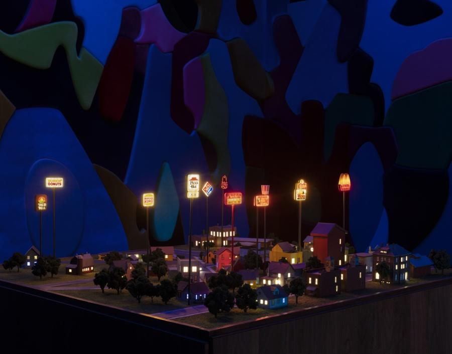 city model installation