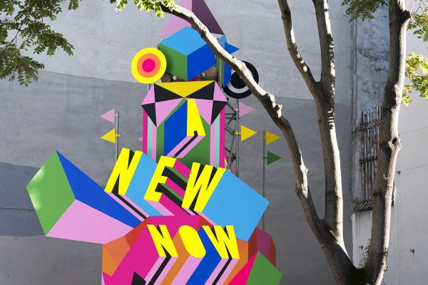 A NEW NOW, Morag Myerscough