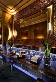 bagno bathroom moderno modern parete decorativa decorative panel wevux scuola di interni franciNf artsdesign 2