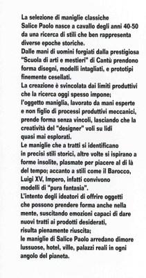 italian business- grandi nomi per interni- salice paolo- maniglie- handle- franci nf artsdesign  storia_017