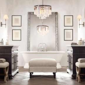 masterbath bagno bathroom classic classy bathub vasca da bagno parete decorativa decorative panel wevux scuola di interni franciNf artsdesign 1fb4a8e96a79