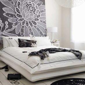 pannello decorativo per letto con testata semplice wevux scuola di interni franci nf arts design