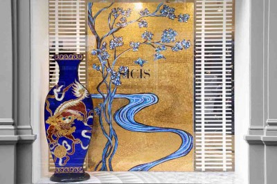 sicis franci nf arts design wevux grandi nomi per interni mosaic mosaico art factory ShowroomParis_49 Low Res