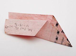 pink paper plane