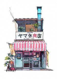 Magnificent-Illustrations-of-Tokyo-by-Mateusz-Urbanowicz4-900x1245