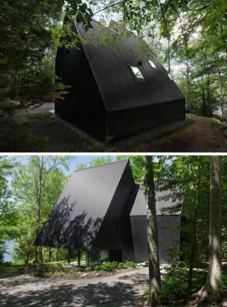 Contemporary-Triangular-Cabin-in-Canada4-900x1214