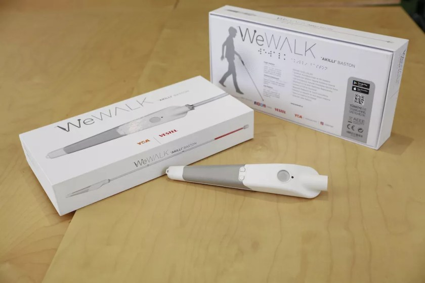 wewalk with its box