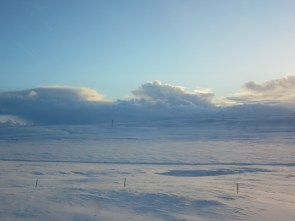 Snow as far as the eye can see