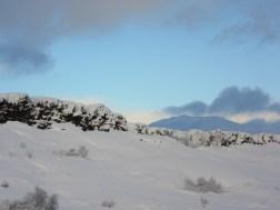 Tectonic plates meeting at Þingvellir National Park