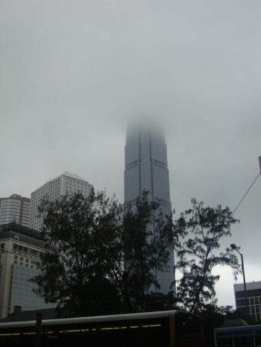 A tower lost in the clouds