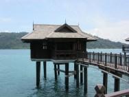 Our hut on stilts