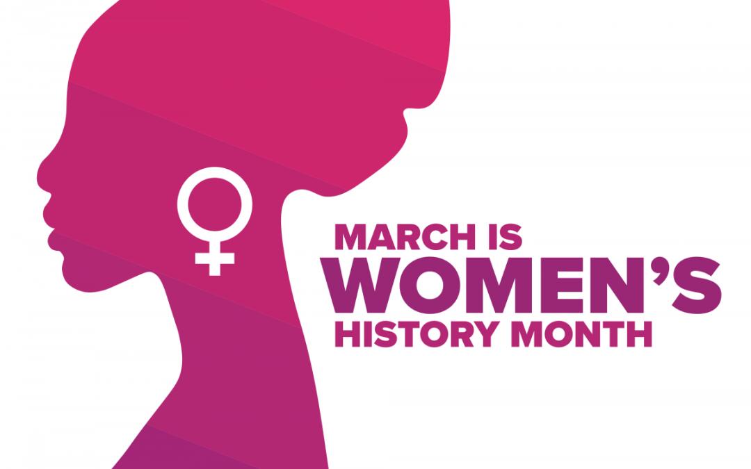 National Women's History Month 2021, We W.I.L.L. Thru Sports