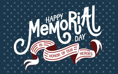 Memorial Day 2021 Is Here!