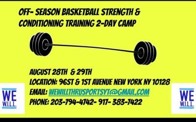 We W.I.L.L. Thru Sports Summer Camp Is Here!
