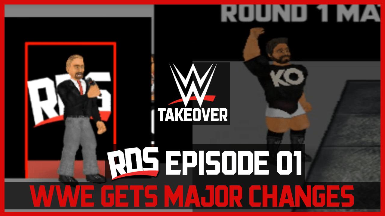 WWE TakeOver #1   WWE GETS MAJOR CHANGES AFTER WRESTLEMANIA 33 – Wrestling Revolution WWE Mod