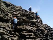 Climbing at Hook