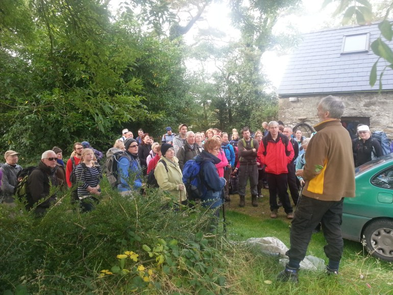 Andrew Lloyd speaking about 1940 Bombing and Knockroe Ringstone