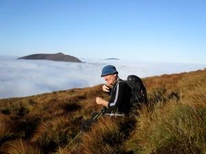 Knockanaffrin Ridge with Slievenamon in the distance