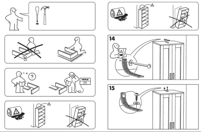 4 Leçons à Tirer Des Notices De Montage Dun Meuble Ikea