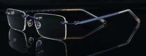 Weye rimless eyewear Australian handmade designer glasses