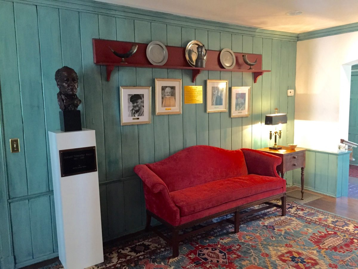 ... Most Recent Inductees Into The NC Literary Hall Of Fame. Next To That  Is The Bust Of Sam Ragan, The NC Poet Laureate Who, In 1979, Spearheaded  The ...