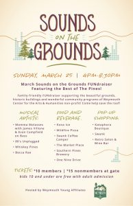 Sounds on the Grounds Outdoor Concert @ Weymouth Center for the Arts & Humanities | Southern Pines | North Carolina | United States
