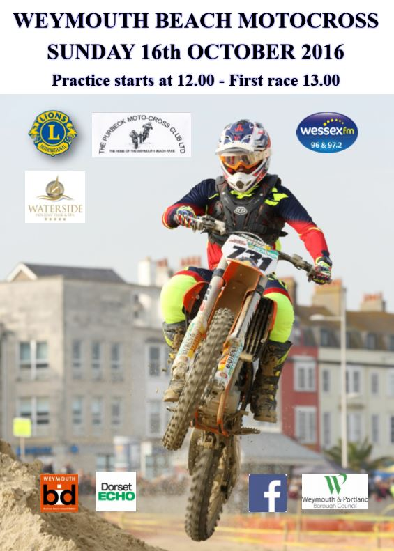 Beach Motocross 16th October 2016 Weymouth Portland Lions Club