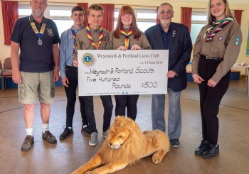 LIONS HELP THE SCOUTS GET TO THE 2019 JAMBOREE IN THE USA