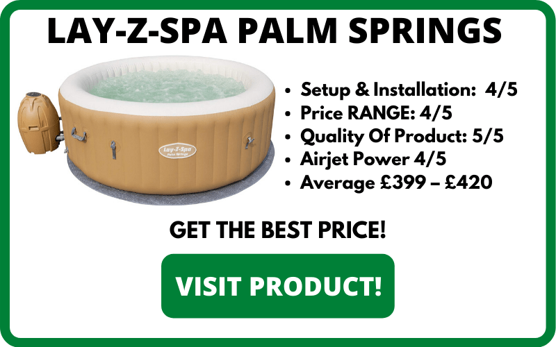 LAY-Z-SPA PALM SPRINGS BREAKDOWN