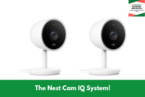 The Nest Cam IQ System!