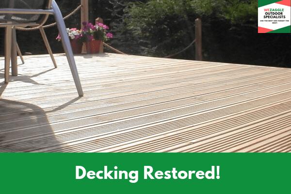Decking Restored!