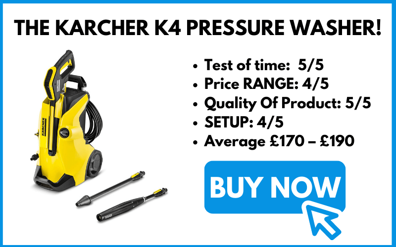 BUY THE KARCHER K4 PRESSURE WASHER!