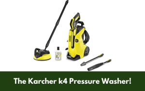 The Karcher k4 Pressure Washer