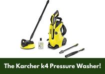 The Karcher k4 Pressure Washer