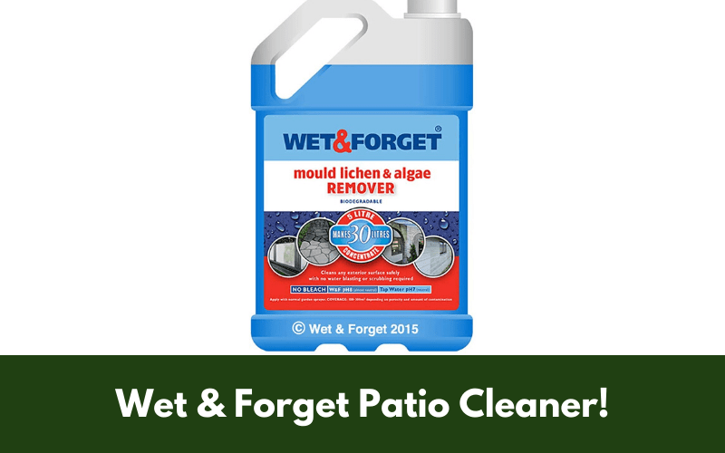 Wet & Forget Patio Cleaner!