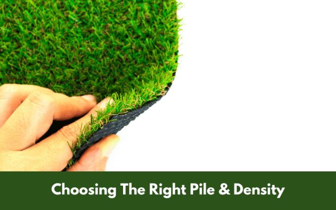 Choosing The Right Pile & Density