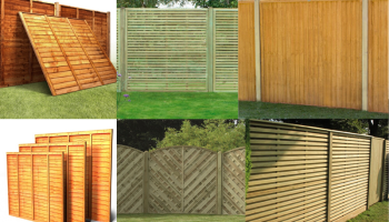 Variety of fence panels