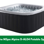 The MSpa Alpine D-AL04 Potable Spa!