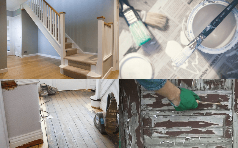 Removing Gloss Paint From Wood