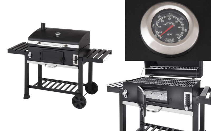 CosmoGrill XXL Charcoal Smoker