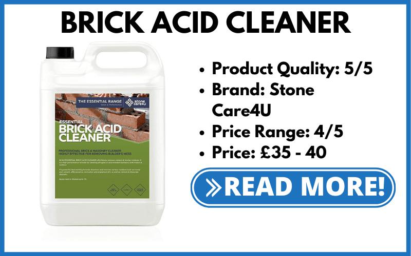 Stone Care4U Brick Cleaner!